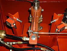 Hydraulische cilinder met pomp