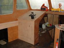 Het intimmeren van het interieur van mijn Vripack 1150 AK ...
